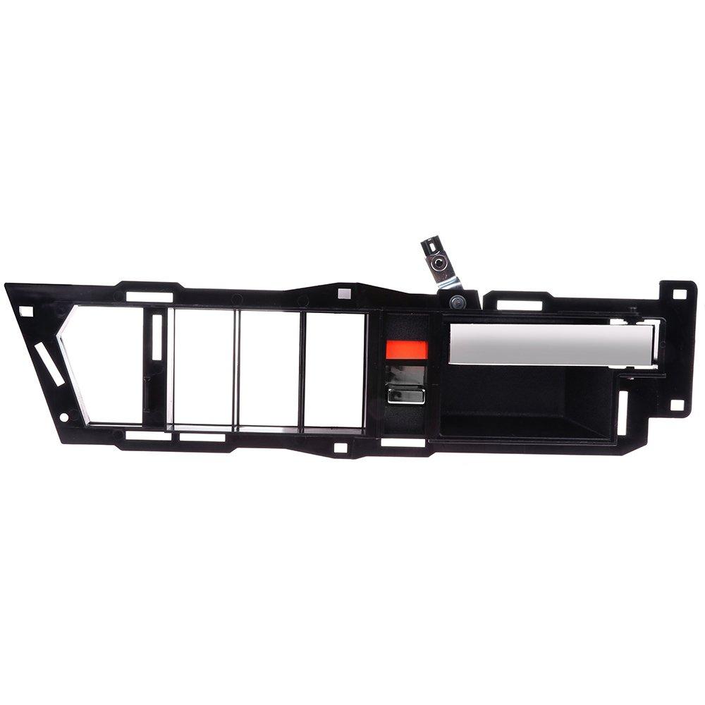 2pcs OCPTY Door Handles Interior Front Driver Passenger Side Replacement fit 1988-1994 Chevrolet GMC C1500 C2500 C3500 K1500 K2500 K3500 Inside Door Handles Black
