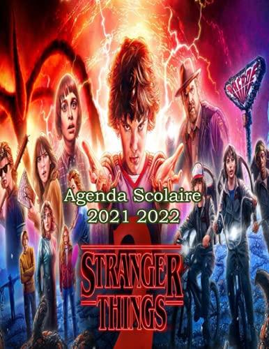 Agenda Stranger Things 2021 2022: agenda scolaire 2021 2022 ado avec calendrier   agenda 2021 2022 semainier a4   planner agenda scolaire grand format adapter pour college et élèves