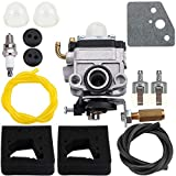 Dxent GX22 GX31 Carburetor w Air Filter Tune Up Kit for Honda HHE31C HHT31S UMK431 UMK431K1 String Trimmer FG100 Tiller