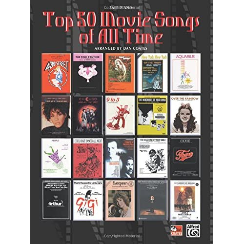 Top 50 Movie Songs of All Time (Easy Piano)