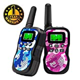Walkie Talkies For Kids , Range Up to 3 Miles With Backlit LCD Display And...