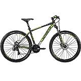 Whistle Bici Miwok 1835 27.5' 7-Velocità taglia 46 nero/verde 2018 (MTB Ammortizzate) / Bike Miwok 1835 27.5' 7-Speed size 46 black/green 2018 (MTB Front suspension)