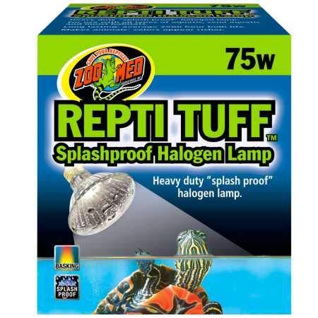 Zoo Med Turtle Tuff Lampe à Halogène pour Reptile/Amphibien 75 W