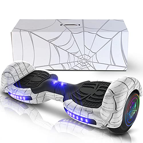 Seangles Hoverboard with Bluetooth and Led Lights...