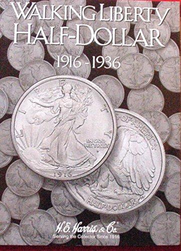 Harris Walking Liberty 1/2 Dollar 1916-1936 Coin Folder