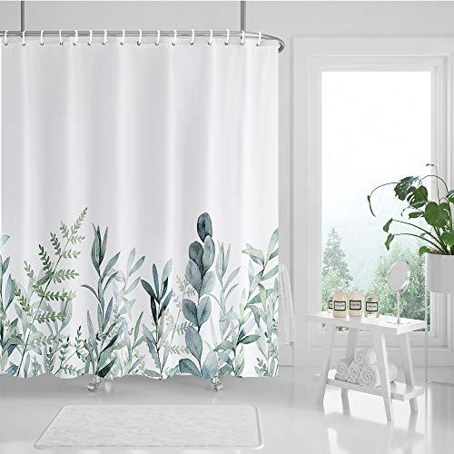 Guiffly -   Duschvorhang grüne