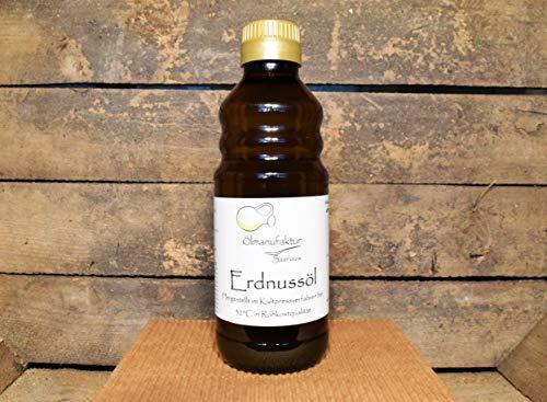 Bio-Erdnussöl 500ml | natives Erdnussöl | kalt gepresst