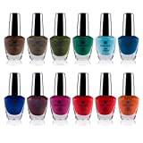 Best Nail Polish Sets - SHANY Nail Polish Set - 12 Bold Review