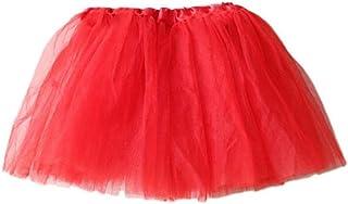 Liyukee S/ólido Beb/é Tut/ú Faldas Ni/ñas Vestido Burbuja Princesa Mullida Suave Gasa Ballet Fiesta de Cumplea/ños Gradas Pettiskirt para 3-24 Meses Ni/ñas