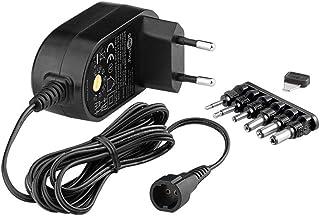 Goobay 59033 3 12V Universal Netzteil mit max. 12W / 1000mA inkl. 6 Adapterstecker DC schwarz