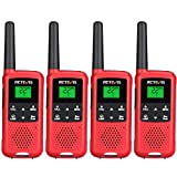 Retevis RT49B Rechargeable 2 Way Radios,Walkie Talkies for Adults,22 CH License-Free VOX NOAA, Two...