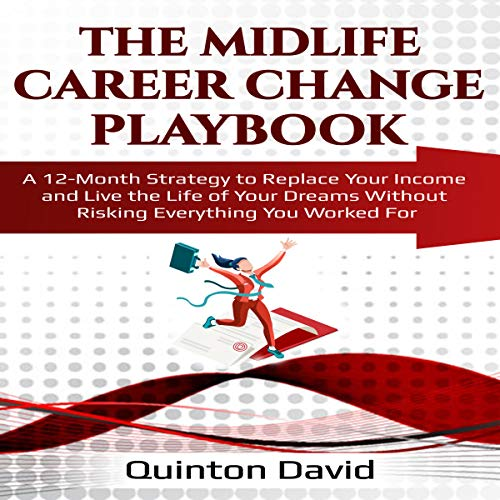 The Midlife Career Change Playbook audiobook cover art