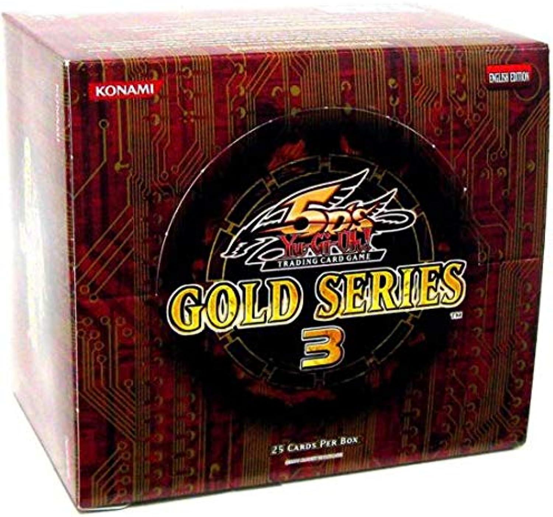 marca Box Yu-Gi-Oh English version GLD3 oro Series 3 oro Series Series Series 3 box (japan import)  la red entera más baja