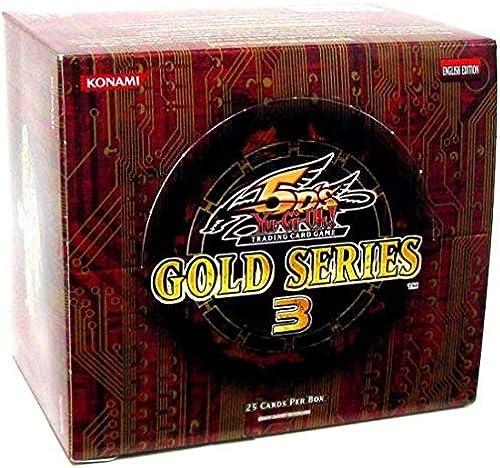 box Yu-Gi-Oh English version GLD3 Gold Series 3 Gold Series 3 box (japan import)