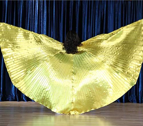 SMACO Kinder Bauchtanz Flügel Bauchtanz Zubehör Bollywood Oriental Ägypten Ägyptischen Flügel Kostüm,A