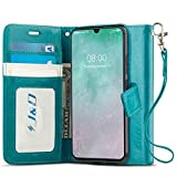 J&D Case Compatible for Galaxy A90 5G Case, Wallet Stand