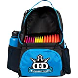 Dynamic Discs Cadet Disc Golf Backpack | Blue/Black | Frisbee Disc Golf Bag with 17+ Disc...