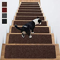 Stair Treads Non-Slip Carpet Indoor Set