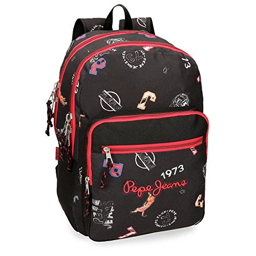 Mochila adaptable a carro Pepe Jeans Jill doble compartimento 44cm