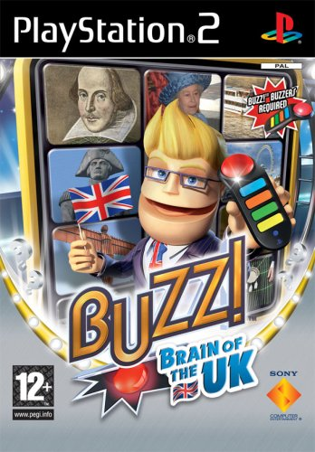 Buzz! Brain of the UK (PS2) [Importación Inglesa]