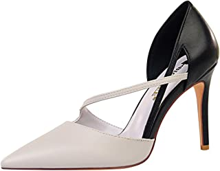 RizaBina Women Stiletto Heels Sandals Pointed Toe
