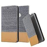 Cadorabo Funda Libro para Xiaomi RedMi Note 5A Prime en Gris Claro MARRÓN - Cubierta Proteccíon con Cierre Magnético, Tarjetero y Función de Suporte - Etui Case Cover Carcasa
