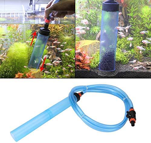 HEEPDD Aquarium grindreiniger, vistank sifon semi-automatische waterwisselaar aquarium zand grind schoonmaak gereedschap voor vissen tank Aquarium, M