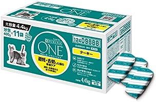 【Amazon.co.jp限定】 ピュリナ ワン キャットフード 避妊・去勢した猫の体重ケア 避妊・去勢後から全ての年齢に ターキー 4.4kg(400g×11袋入)