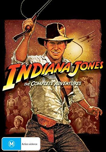 Raiders Lost Ark / Indiana Jones T. Doom / L. Crusade / Crystal Skull | NON-USA Format | PAL | Region 4 Import - Australia