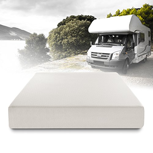 ZINUS 10 Inch Ultima Memory Foam Mattress / Short Queen Size for RVs, Campers & Trailers / Mattress-in-a-Box