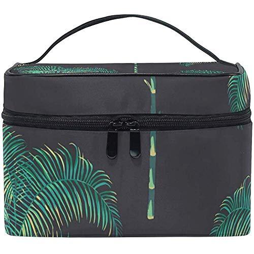 Multifunctionele tas voor tropische toilettas.