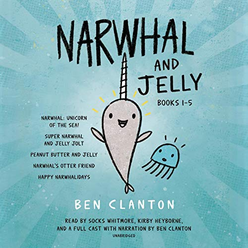 Page de couverture de Narwhal and Jelly, Books 1-5