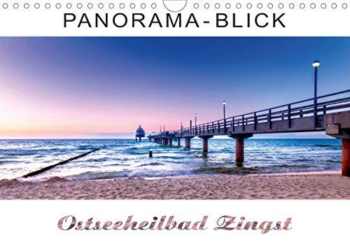 Panorama-Blick Ostseeheilbad Zingst (Wandkalender 2021 DIN A4 quer)