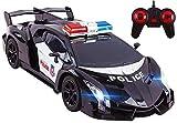 Vokodo Voiture de Police télécommandée Super Exotique avec phares à Del...