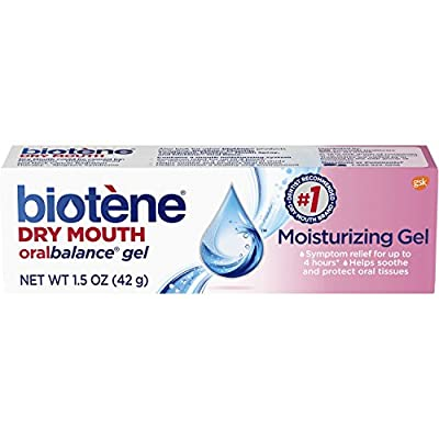 Biotene OralBalance Moisturizing Gel Flavor-Free, Alcohol-Free, for Dry Mouth, 1.5 ounce