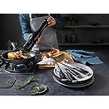 WMF Chef's Edition Messerset 3teilig, Spezialklingenstahl, 3 Messer geschmiedet, Holzbox, Küchenmesser - 11