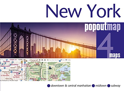 Popout Map New York Double (Popout Maps)