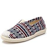 HVSLXM Sandalias para Mujer, Zapatos de Lona...