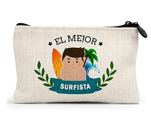 Monedero El Mejor Surfista del Mundo Regalo Original Surf Personalizado