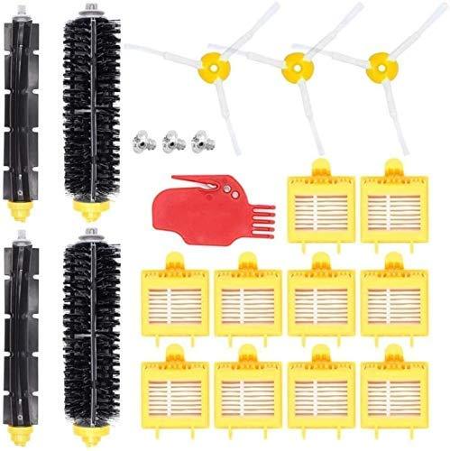 NICERE Recambios para aspiradoras adecuados para 700 Series Accesorios 760 770 780 790 Partes de repuesto Kit de cepillo de repuesto