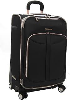 "Olympia Tuscany 25"" Expandable Rolling Case - Black"