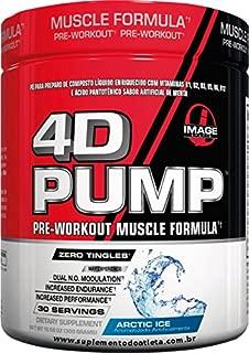 Image Sports - 4D PUMP - Intense Pre-Workout Formula - ARCTIC ICE by BPI Sports