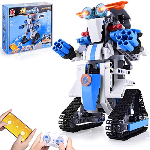 STEM Toys for Kids Robot Kit Erector Building Brick Set Learning amp Education Activities Science Kits Blocks STEM Projects for Kids Ages 812 Birthday Gifts Handson Brain Exercise Toys for Boys Girls