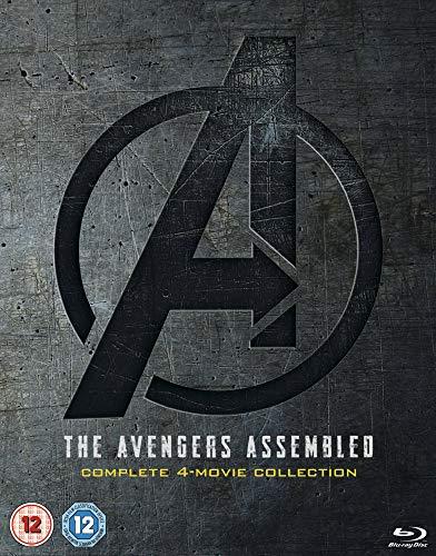 Avengers 1-4 Complete (5 Blu-Ray) [Edizione: Regno Unito]