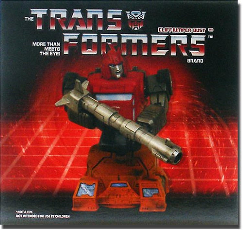 Diamond Select Transformers  Cliffjumper Bust