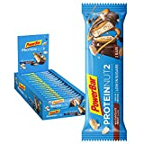 PowerBar Protein Nut2 Milk Chocolate Peanut 18x(2x22,5g) - High Protein Low Sugar Riegel -
