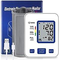 XinXu Upper Arm Digital Blood Pressure Monitor with 2 Users