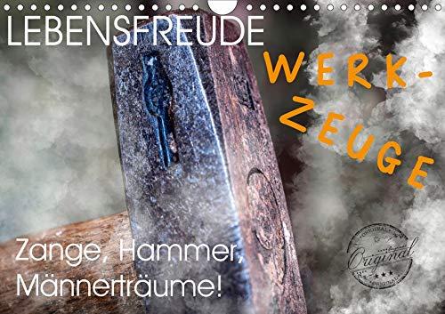 Lebensfreude Werkzeuge (Wandkalender 2020 DIN A4 quer): Wir Handwerker lieben Werkzeuge jeglicher Art. Auf zum Baumarkt Heimwerker! Hammer, Pinsel und ... 14 Seiten ) (CALVENDO Hobbys)