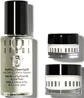Bobbi Brown Mini Hydrating Trio Hydrating Face Cream 7 ml, Hydrating Eye Cream 3 ml, Soothing Cleansing Oil 15 ml