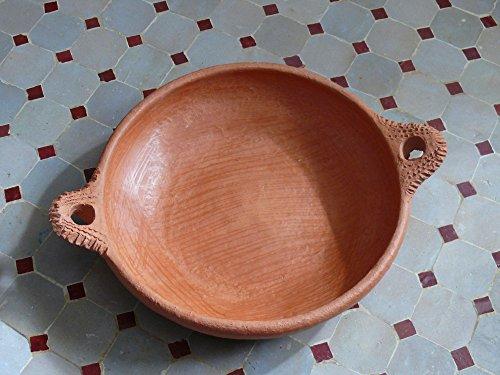 Marokkanische Tajine -Pfanne zum Kochen unglasiert Ø 26 cm - ohne Deckel - 905754-0001